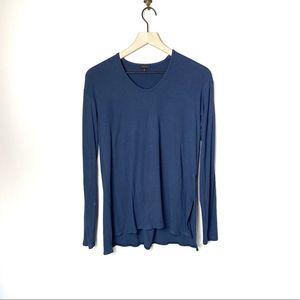Theory Long Sleeve Tunic | Blue